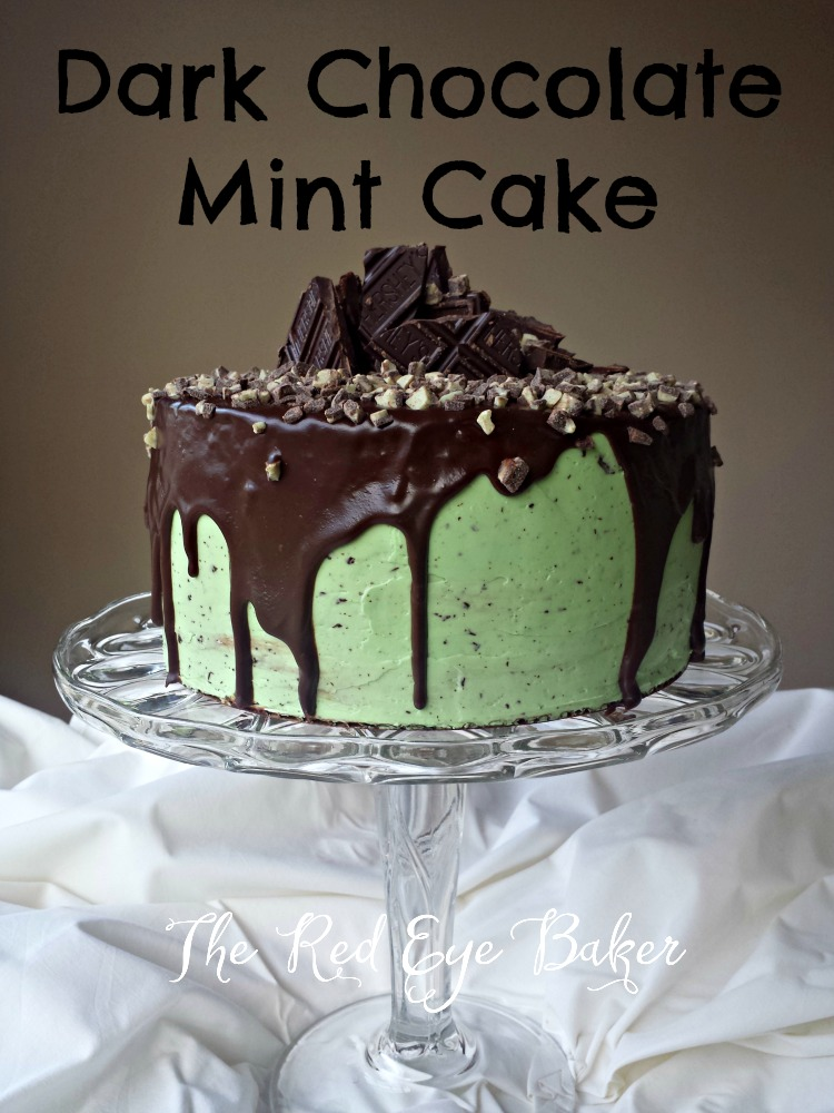 Dark Chocolate Mint Cake