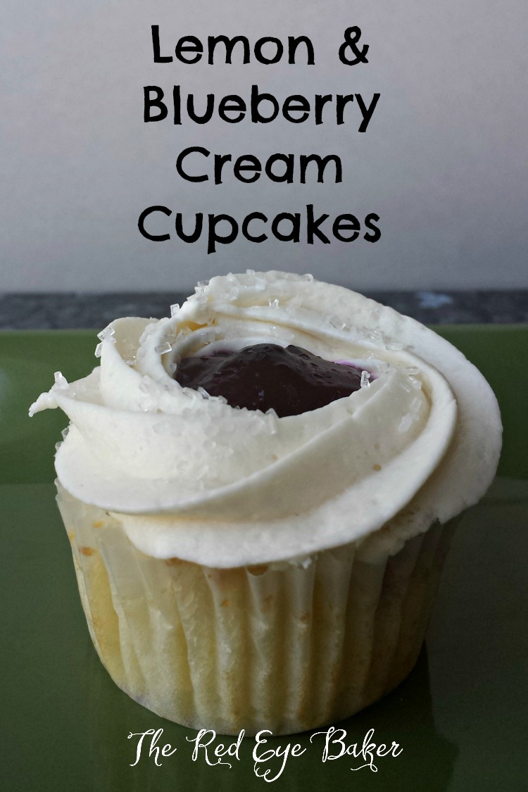 how to make blueberry cupcakes