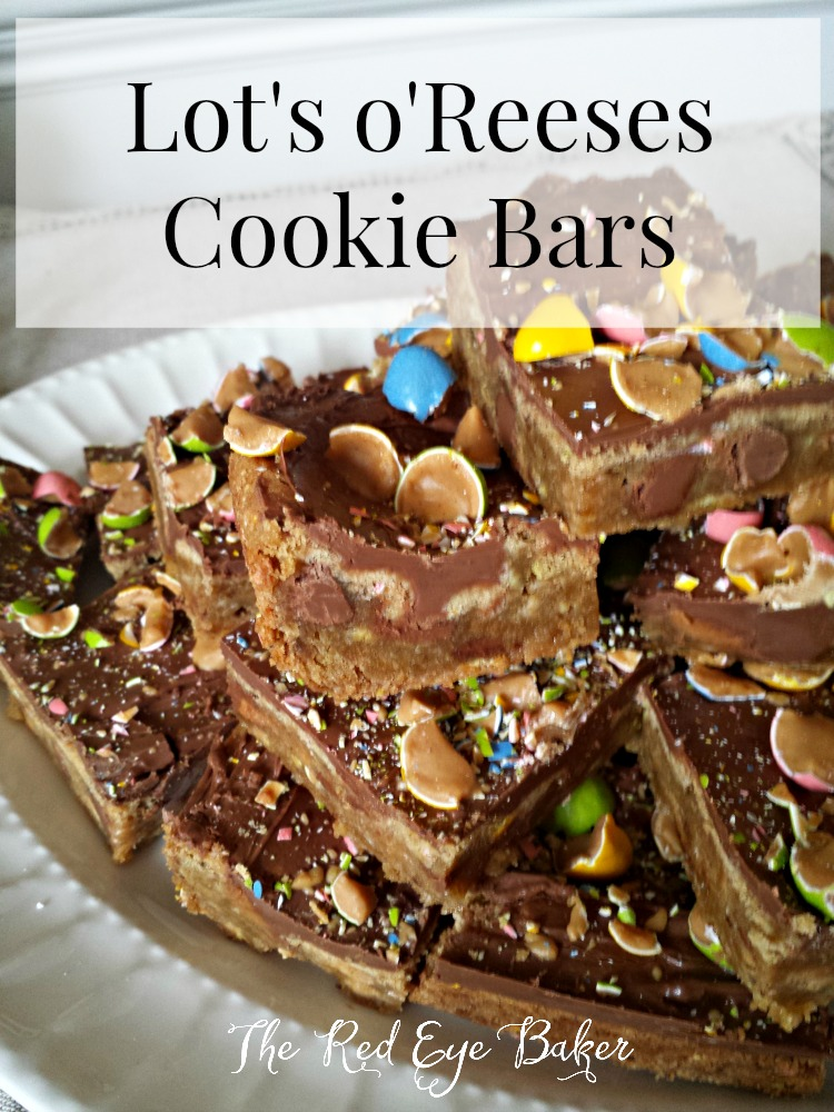 Lot's o'Reeses Cookie Bars