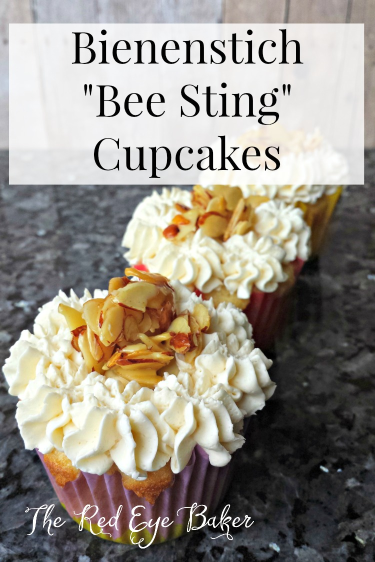 Bee Sting Cupcakes