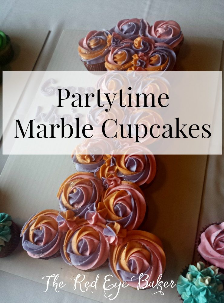 Partytime Marble Cupcakes