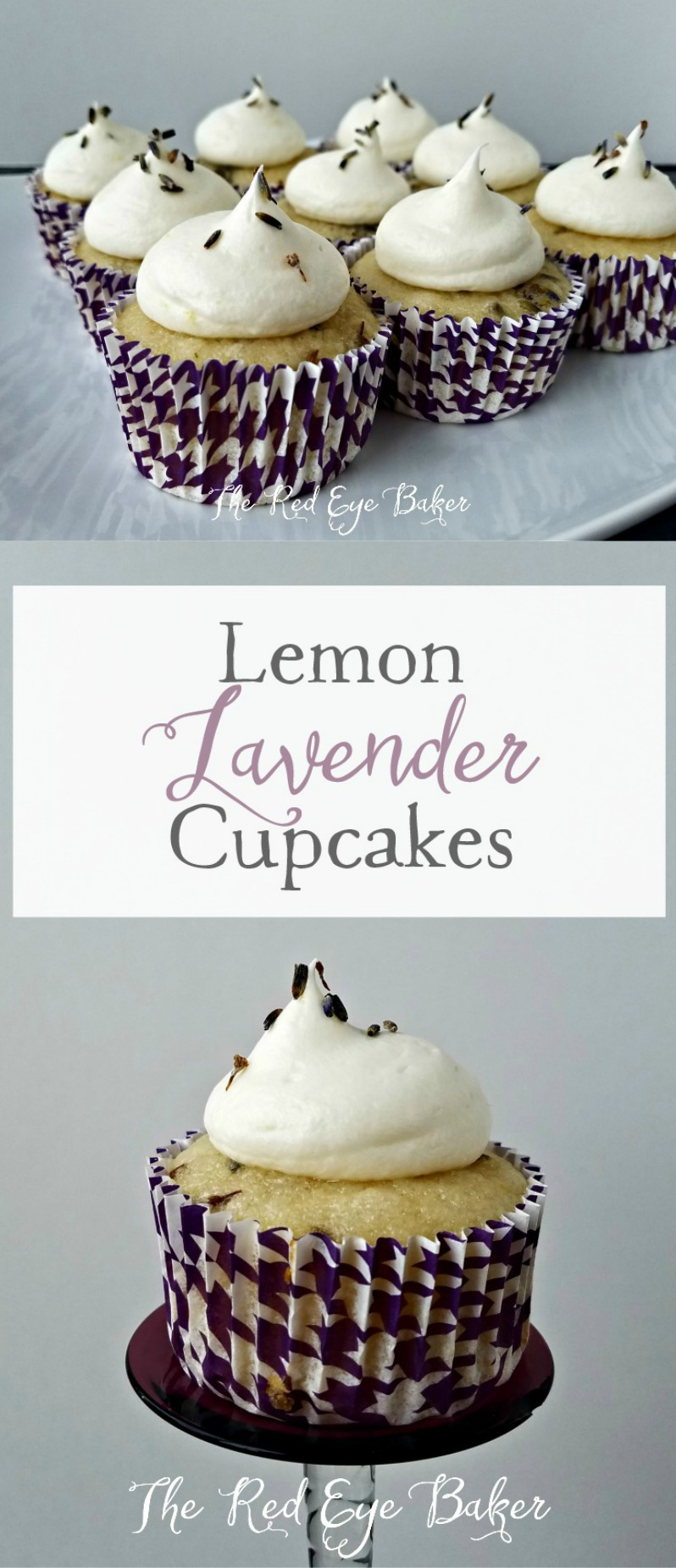 Lemon Lavender Cupcakes | Join me as I set out on a culinary adventure and use lavender for the first time in my recipe for these delicious Lemon Lavender Cupcakes.