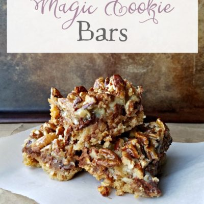 Oatmeal Magic Cookie Bars