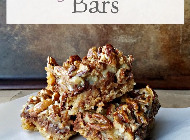 Oatmeal Magic Cookie Bars | With only 7 basic ingredients you probably have all you need in your pantry to make these delicious and indulgent Oatmeal Magic Cookie Bars right now!