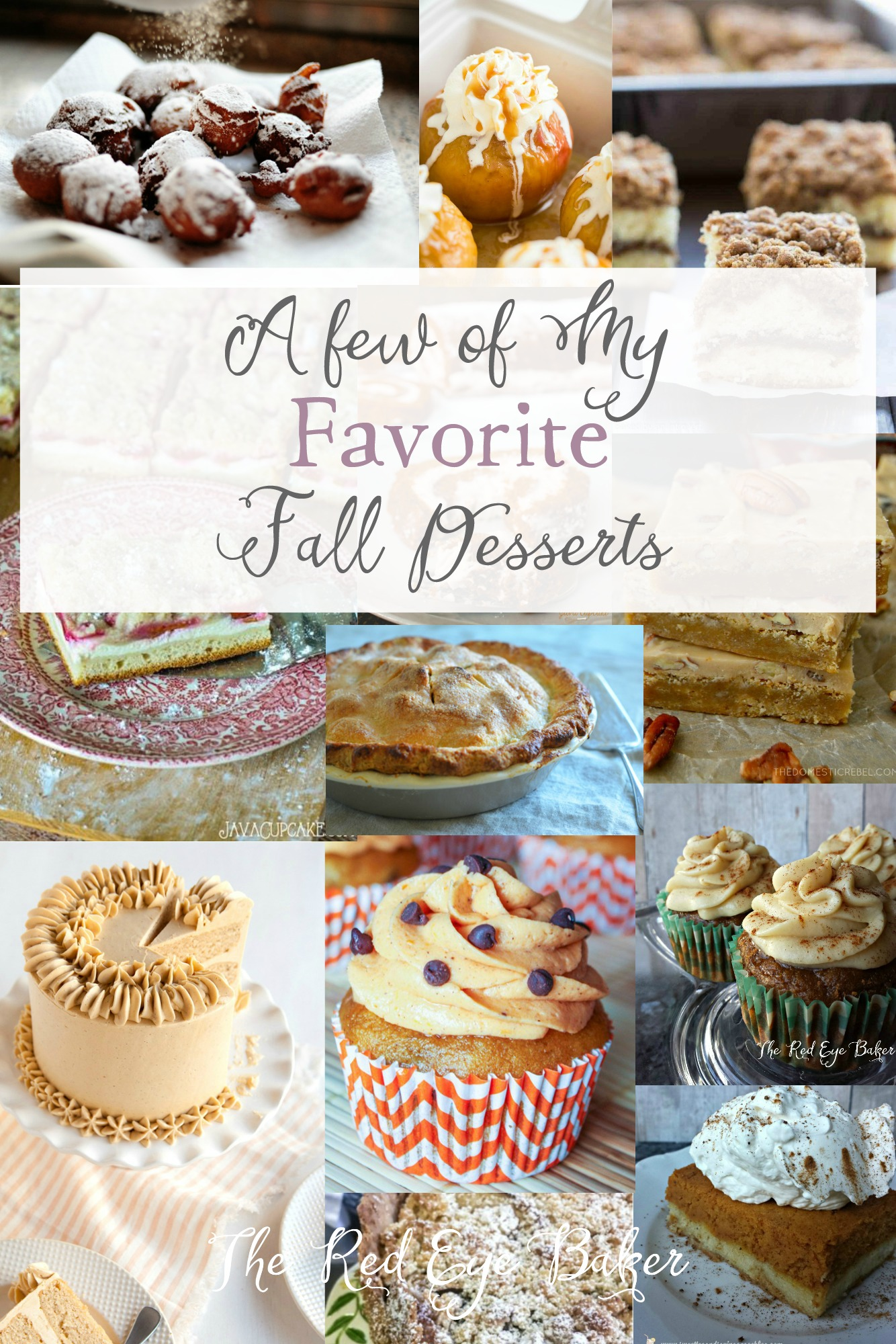 A Few of My Favorite Fall Desserts | With Labor Day behind us it's time to indulge in all thing apple and pumpkin. Check out a few of my favorite fall desserts!