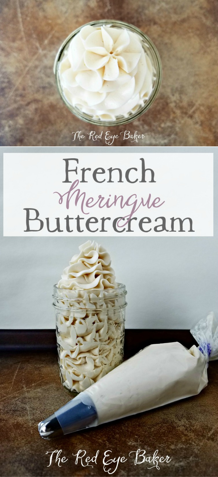 French Meringue Buttercream | I experimented with French Meringue Buttercream this week for the first time and I'm sharing all about this culinary adventure.