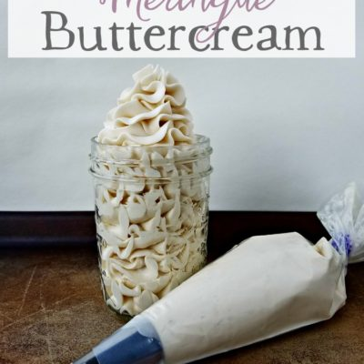 French Meringue Buttercream